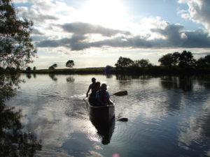 GraceField-canoe-touring-fishing