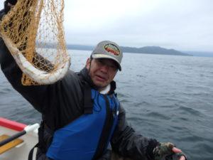 屈斜路湖で釣れた魚